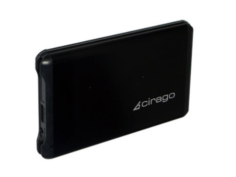 "Cirago 2.5"" 640GB USB 3.0 Portable Slim External Hard Drive CST6064 CST-6064"