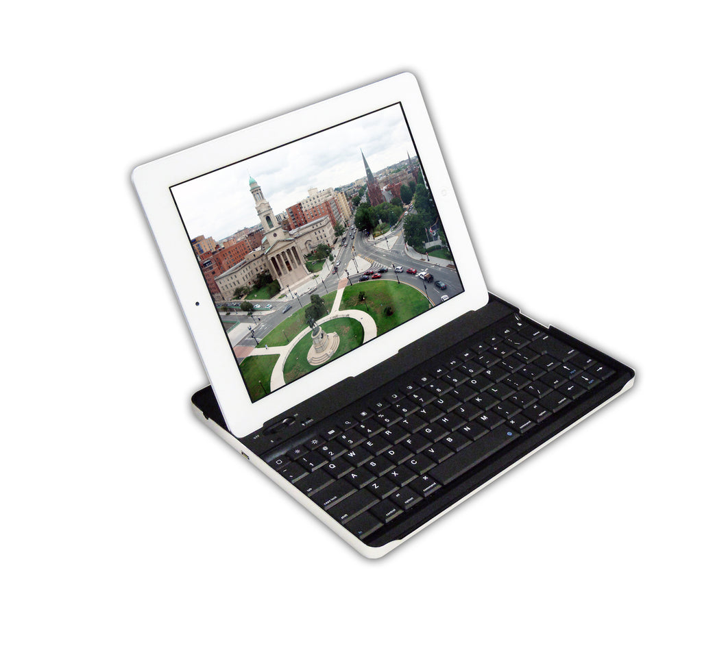 Cirago Aluminum Bluetooth Keyboard Case for Apple iPad2 /iPad(3rd Gen) IPA6000