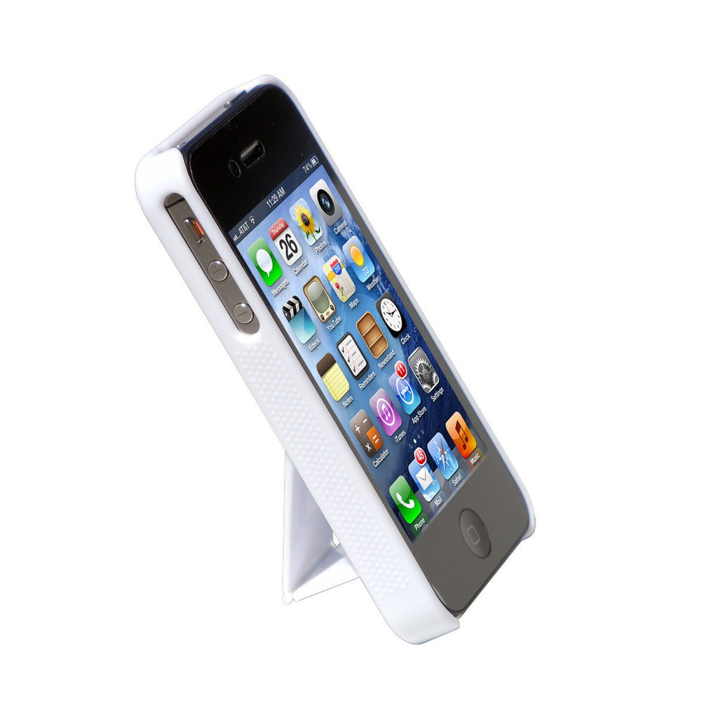 Cirago White Slim Case with kickstand for Apple iPhone 4S / iPhone 4 IPC1000WHT