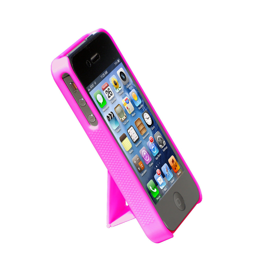 Cirago Purple Slim Case with kickstand for Apple iPhone 4S / iPhone 4 IPC1002PUR
