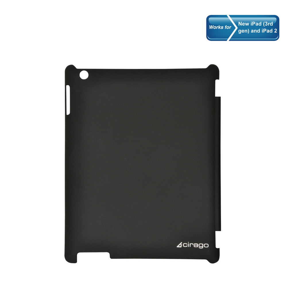 Cirago NuCover Mate for New iPad iPad2. Back Protective Shell IPC2000GRY