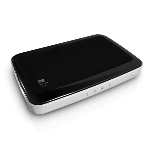 WD My Net N600 HD Dual Band Router Wireless N WiFi Router WDBEAV0000NWT