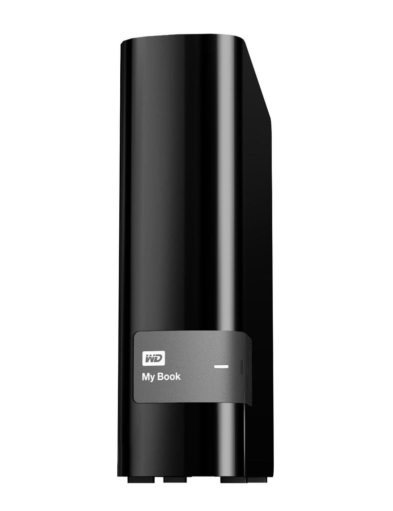 Western Digital My Book 2TB USB 3.0 Hard Drive with Security, Local and Cloud Backup WDBFJK0020HBK