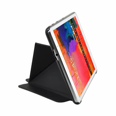 Cirago Slim-Fit Origami Case with Stand for Galaxy Tab Pro 8.4 CGXTP8POA1BLK