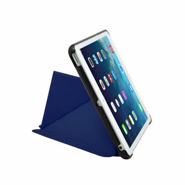 Cirago Slim-Fit Origami Case with Stand for iPad mini with Retina display and iPad mini - Navy IPCM2POA2NVY
