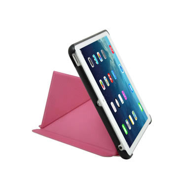 Cirago Slim-Fit Origami Case with Stand for iPad mini with Retina display and iPad mini - Pink IPCM2POA2PNK