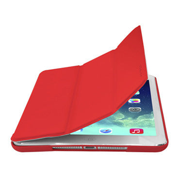 Cirago Slim-Fit PU Case for iPad Air - Red IPCP5PA1Red