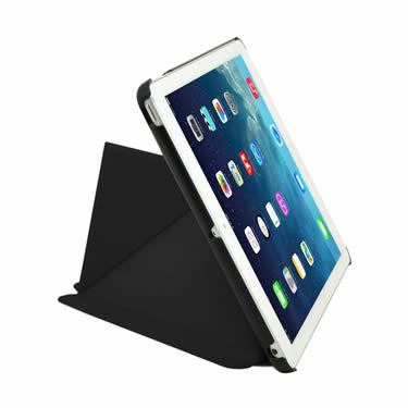 Cirago Slim-Fit Origami Case with Stand for iPad Air - Black IPCP5POA2BLK