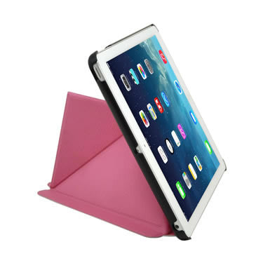 Cirago Slim-Fit Origami Case with Stand for iPad Air - Pink IPCP5POA2PNK