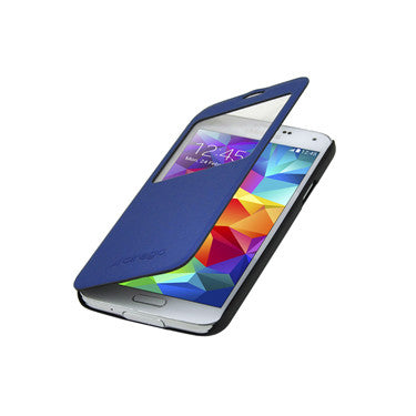Cirago Smart-View Stand Case for Galaxy S5 - Navy