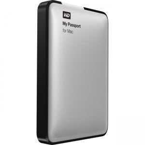 WD My Passport for Mac 2TB Portable External Hard Drive Storage USB 3.0 WDBKKF0020BSL