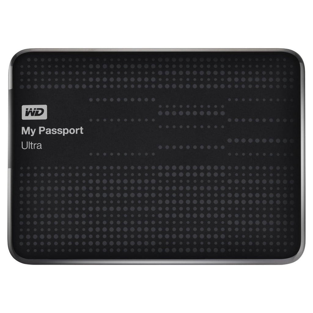 Western Digital My Passport Ultra 1TB Portable External USB 3.0 Hard Drive with Auto Cloud Backup WDBZFP0010BBK