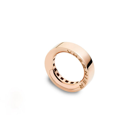 VHERNIER Double V Ring Pink Gold