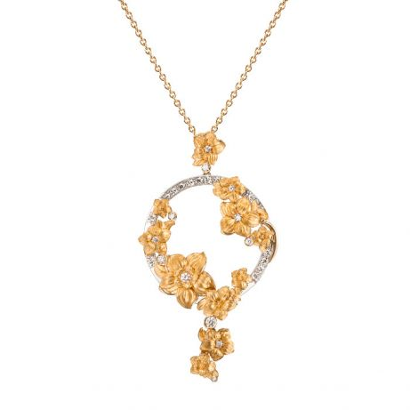 "Carrera y Carrera Diamond ""Emperatriz Bouquet"" Necklace"
