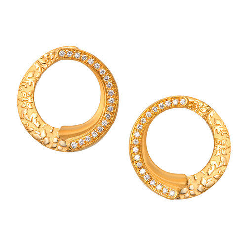Carrera y Carrera Diamond Cervantes Earrings