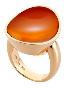 VHERNIER Giotto Piccolo Cornelian Crystal Ring