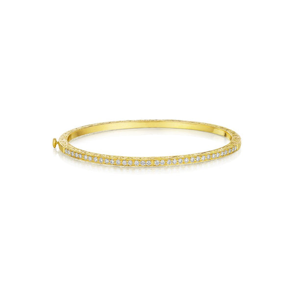 Penny Preville Classic Diamond Bangle Bracelet