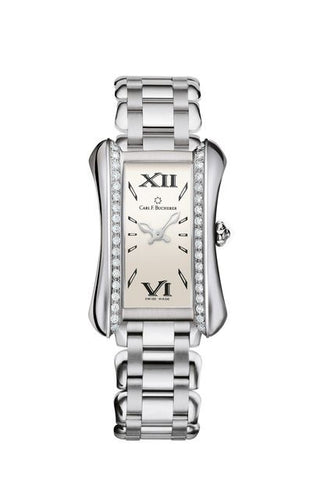 Carl F Bucherer Alacria Queen Stainless Steel and Diamonds Watch