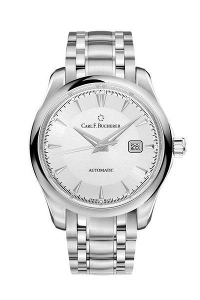 Carl F Bucherer Manero AutoDate Stainless Steel Watch