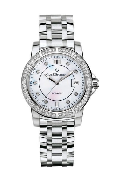Carl F Bucherer Patravi AutoDate Diamond Watch