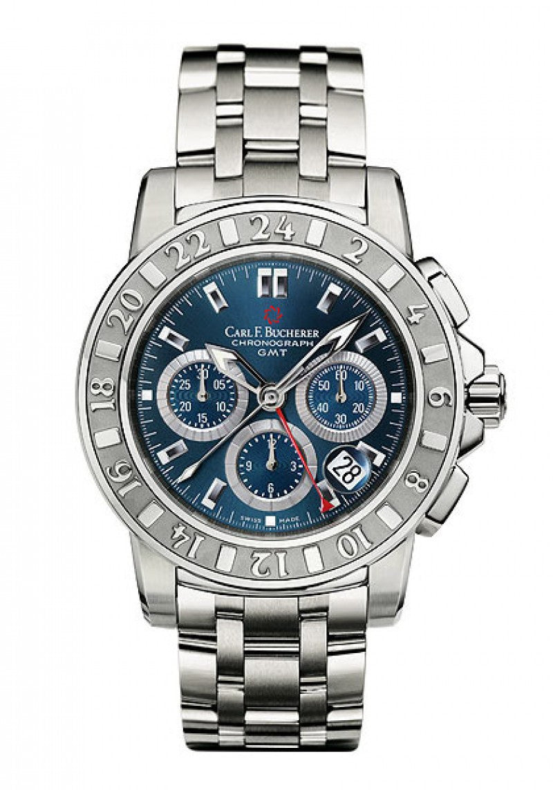 Carl F Bucherer Patravi Travel Graph Chronograph Watch