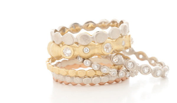 Jennifer Dawes Design Dewdrop Diamond Eternity Ring