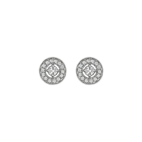 57c295637480db Penny Preville Pave Diamond Halo Earrings