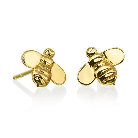 "Gumuchian ""B"" Stud Earrings"
