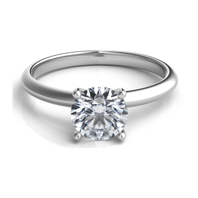 Sasha Primak Platinum Engagement Ring