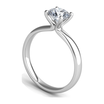 Sasha Primak Platinum 4-Prong Engagement Ring