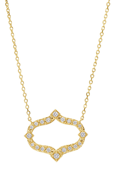 Gumuchian Secret Garden Diamond Pendant