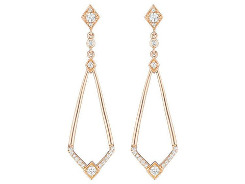 Penny Preville Diamond Drop Earrings