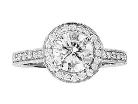 Penny Preville Penelope Diamond Engagement Ring