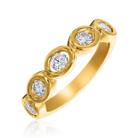 Gumuchian Oasis Diamond Ring