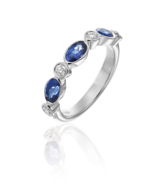 Gumuchian Marbella Sapphire and Diamond Ring