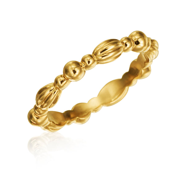 Gumuchian Nutmeg Stackable Ring