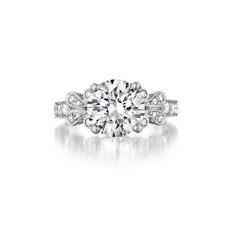 Penny Preville Juliet Diamond Semi-Mount Engagement Ring