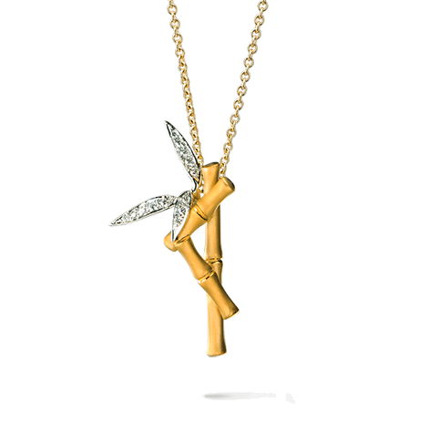 Carrera y Carrera Bambu Collection Pendant