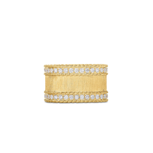 Roberto Coin Satin Princess Diamond Ring
