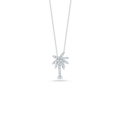 Roberto Coin Tiny Treasures Diamond Palm Tree