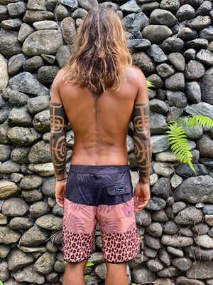 "Boardshort homme ""Wild and Free"""
