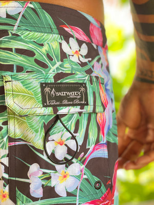 "Boardshort homme ""Tropical vibes"""