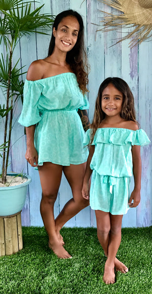 Polynesian dream combi-short fille