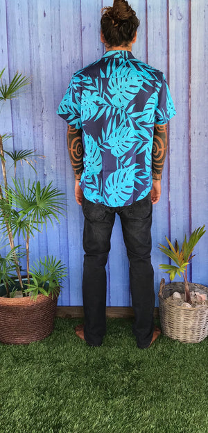 """Tropical vibes"" chemise homme"