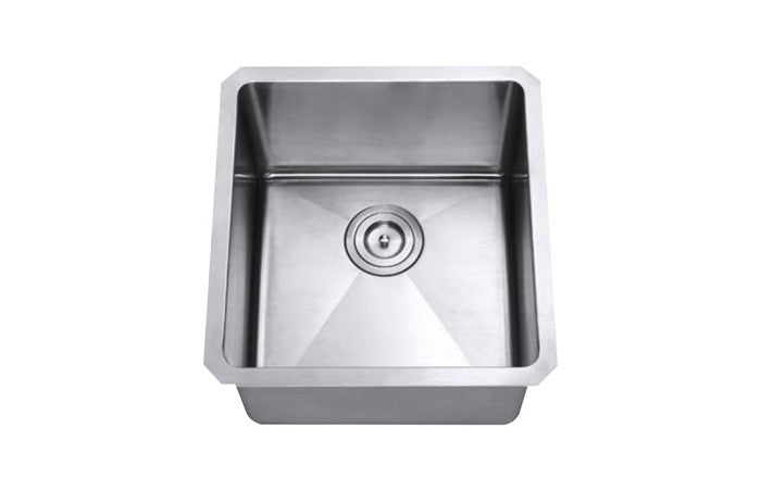 Small single bowl kitchen sink 16 Gauge COMBO - Chef Series