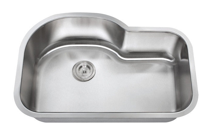 1-3/4 single bowl kitchen sink 16 gauge COMBO - Chef Series – Real ...
