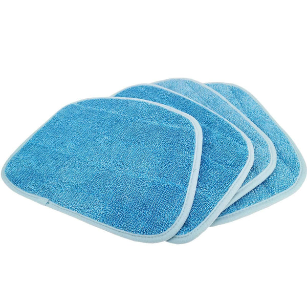 Compatible Steam Mop Pads for Coral Blue Chenille Triangle 2 Clean Co