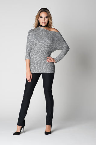 Sweater silver