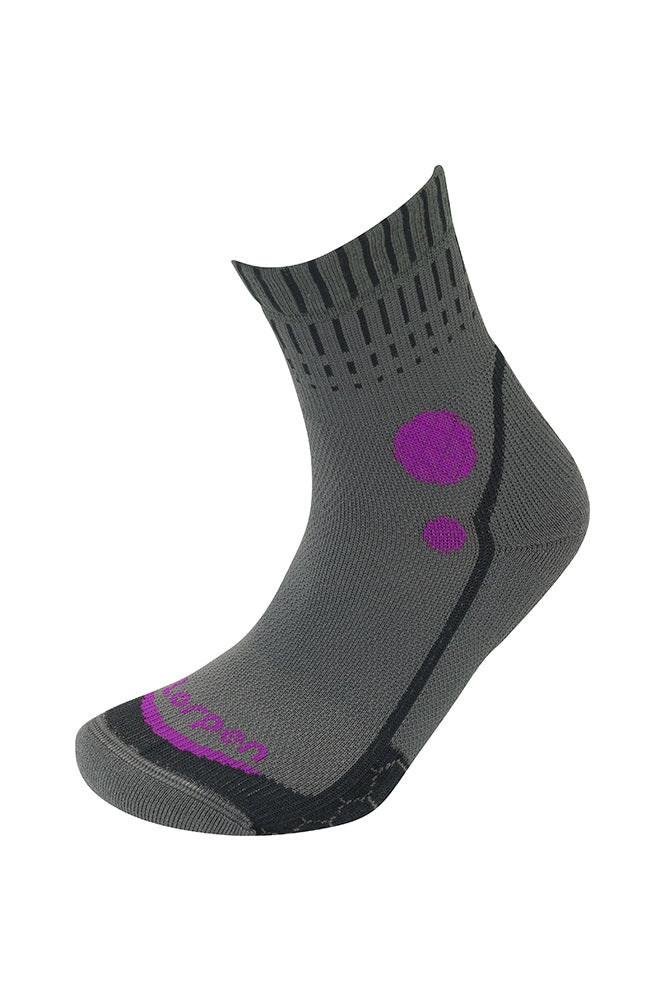 Lorpen T3 Womens Running Mid Crew Socks