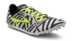 Brooks Unisex 3ELMN8 Middle Distance Spike_black-white
